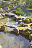 Японский рыбный пруд стоковое фото rf