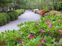 Японский сад в Киоте Стоковые Фотографии RF
