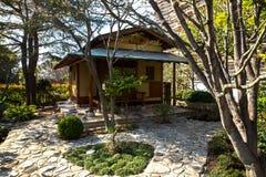 Японский сад в Монте-Карло Стоковое фото RF