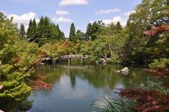 Японский сад Стоковая Фотография RF