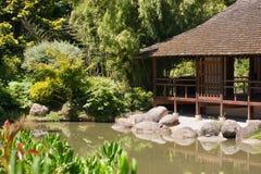 Японский сад в Тулуза Стоковые Фото