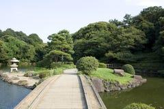 Японский сад Стоковое Изображение