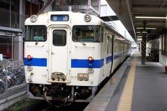 японский старый поезд Стоковые Фото