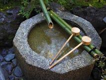 Японский тазик мытья Стоковые Изображения RF
