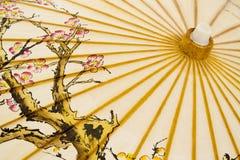 японский традиционный зонтик Стоковые Изображения