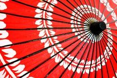 японский традиционный зонтик Стоковая Фотография