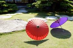 японский традиционный зонтик Стоковое фото RF