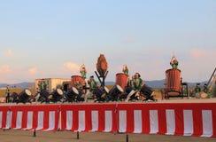 Японский фестиваль Япония лета выставки барабанчика Стоковые Фото