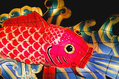 японский фонарик Стоковые Фотографии RF