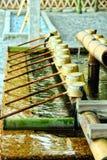 Японский фонтан очищения Стоковые Фотографии RF