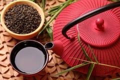японский чайник традиционный Стоковые Изображения RF