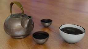 Японский чайник стоковые изображения rf
