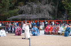 Японский Archery стоковое фото