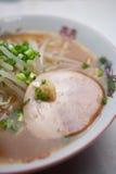 Японский Miso Ramen кухни (тип Саппоро) Стоковые Изображения RF