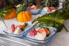 японский sashimi стоковое изображение