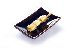 Японский skewered цыпленок Стоковая Фотография RF