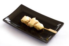 Японский skewered цыпленок Стоковое Изображение