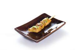 Японский skewered цыпленок Стоковая Фотография