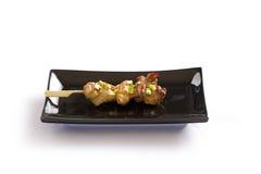Японский skewered цыпленок Стоковое Изображение RF