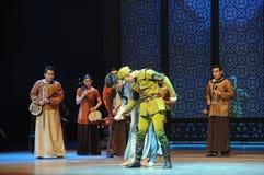 Японского поступок любопытства- Da Zuo армии третий событий драмы-Shawan танца прошлого Стоковые Фотографии RF