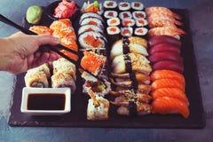 Японское блюдо суш Стоковое Фото