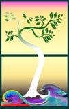 Японское дерево Стоковое Фото