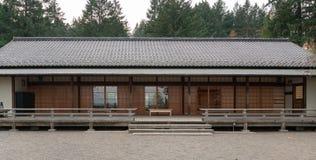 Японское здание столовой стоковое изображение rf