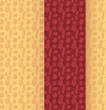 Японское знамя вертикали картины кимоно Стоковое Изображение