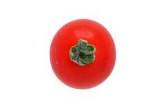 Японское изображение национального флага изолированного красного томата Стоковые Фотографии RF