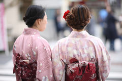 Японское кимоно Стоковое Фото