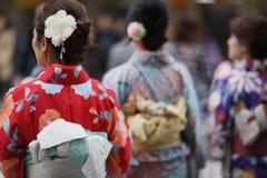 Японское кимоно Стоковые Изображения RF