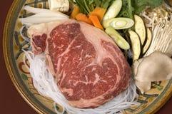 японское мясо kobe Стоковая Фотография RF