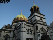 Японское правоверное здание церкви в токио Стоковые Изображения RF