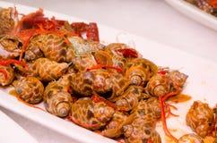 Японское холодное блюдо улитки Стоковые Фотографии RF