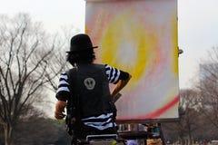 Японское artist/DJ в токио парка Стоковые Изображения