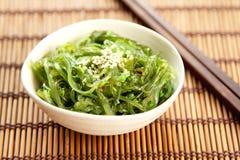 японское wagame seaweed стоковые изображения