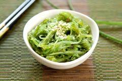 японское wagame seaweed стоковое изображение rf