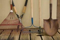 ярд инструментов сада Стоковая Фотография RF