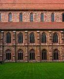 ярд монастыря внутренний Стоковая Фотография