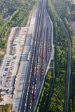 ярд планерного поезда Стоковая Фотография RF