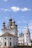 ярд России церков Стоковая Фотография