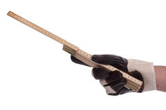 ярд ручки Стоковые Фотографии RF