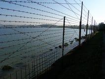 ярд тюрьмы Стоковые Фото