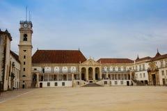 ярд университета coimbra Португалии Стоковая Фотография