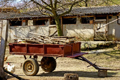 ярд фермы Стоковые Фото
