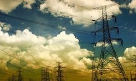 ярд электричества Стоковое фото RF