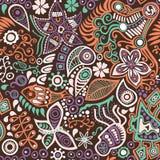 Яркая абстрактная безшовная текстура бесплатная иллюстрация