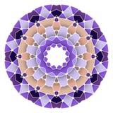 Яркая абстрактная картина, мандала Стоковое Изображение