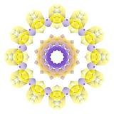 Яркая абстрактная картина, мандала Стоковые Изображения RF
