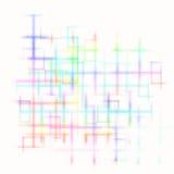 Яркая абстрактная предпосылка лабиринта иллюстрация вектора